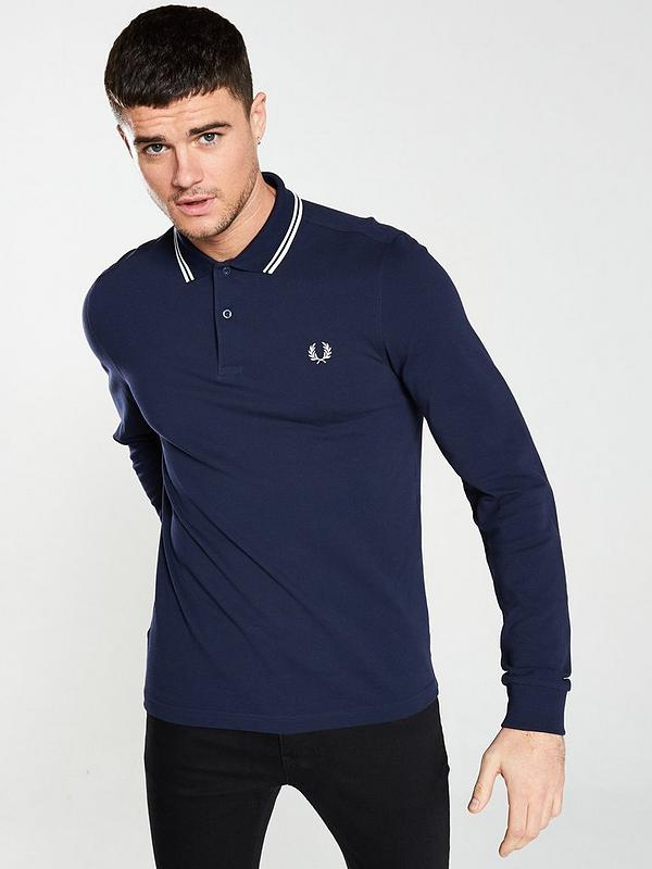 Fred Perry Twin Tipped Shirt Polo Homme