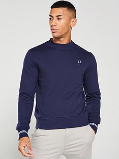 fred-perry-cut-amp-sew-sweatshirt-royal-blueblack
