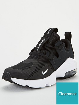 nike-air-max-infinity-childrens-trainers-blackwhite