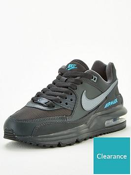 nike-air-max-wright-junior-trainers-blackgrey