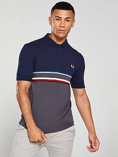 fred-perry-chest-stripe-polo-shirt-carbon-bluegrey