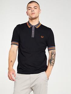 fred-perry-contrast-trim-polo-shirt-black