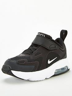nike-air-max-200-toddler-trainers-blackwhite