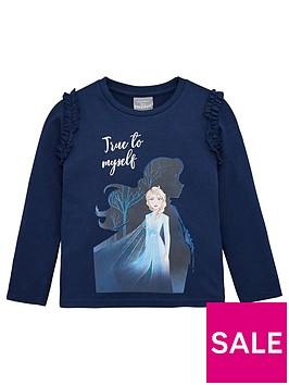 disney-frozen-2-toddler-girls-elsa-t-shirt-navy