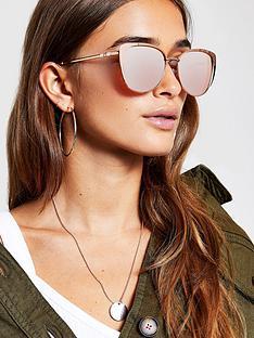 river-island-river-island-gold-tone-cat-eye-sunglasses-rose-gold