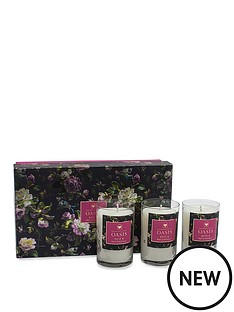 oasis-home-renaissance-rose-and-patchouli-3-candle-gift-set