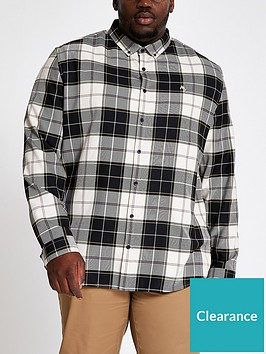 river-island-ls-neutral-black-check-reg-bt