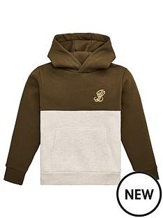 illusive-london-boys-cut-and-sew-hoodie-khaki