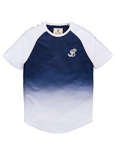 illusive-london-boys-contrast-fade-t-shirt-navy