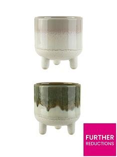 sass-belle-set-of-2-mini-reflective-glazed-planters