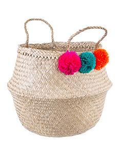 sass-belle-summer-pom-pom-basket