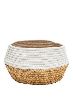 sass-belle-white-dip-rope-amp-grass-basket