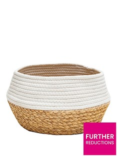 sass-belle-white-dip-rope-amp-grass-basket