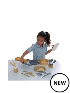 kidkraft-27-piece-cookware-set-modern-metallics