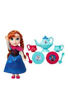 disney-frozen-disney-frozen-toddler-doll-anna-tea-set-gift-set