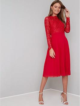 chi-chi-london-naarah-lace-top-midi-dress-red