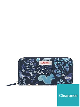 cath-kidston-continental-magical-memories-zip-wallet-purse-navy