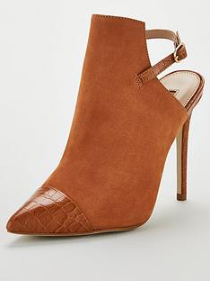 office-honeybee-sling-back-shoe-boot-caramel