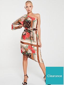 river-island-river-island-one-shoulder-kimono-sleeve-midi-dress-brown