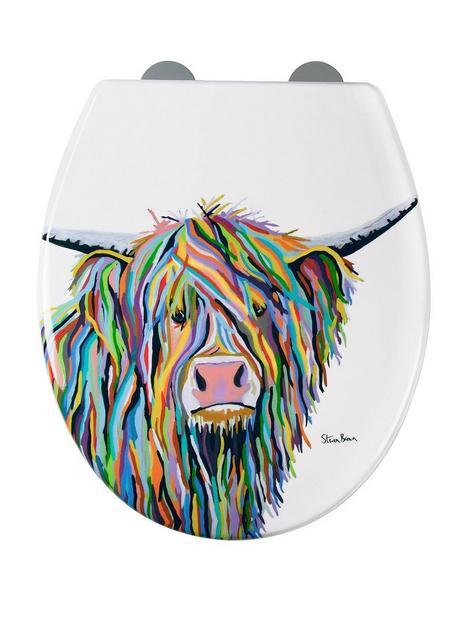 croydex-steven-brown-angus-mcmoo-toilet-seat