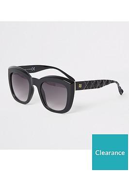 river-island-river-island-studded-arm-glam-sunglasses-black