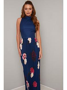 chi-chi-london-sansa-dress-navy