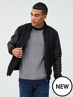 selected-homme-wool-leather-mix-jacket