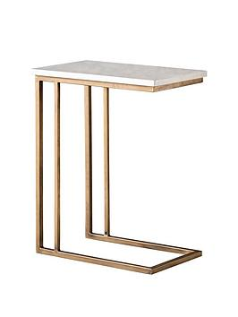 hudson-living-cleo-marble-supper-table-white