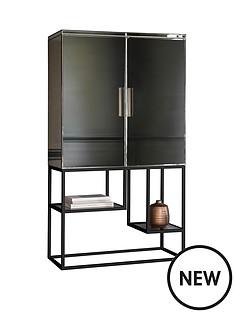 hudson-living-pippard-open-display-unit-ndash-champagne