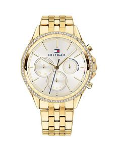 tommy-hilfiger-silver-sunray-chronograph-dial-gold-stainless-steel-bracelet-ladies-watch