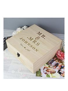 personalised-mr-mrs-keepsake-box