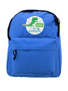 personalised-dinosaur-backpack