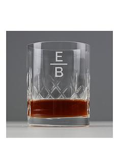 monogram-crystal-whiskey-glass