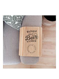 personalised-reserved-for-beer-sofa-tray