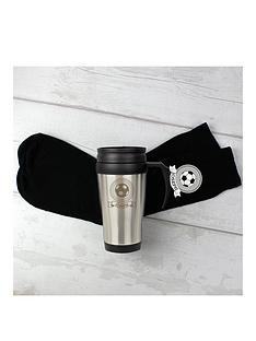 personalised-football-flask-and-lucky-socks-set