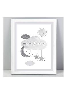 personalised-welcome-to-the-world-new-baby-framed-print