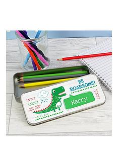 personalised-dinosaur-pencil-tin-and-pencils