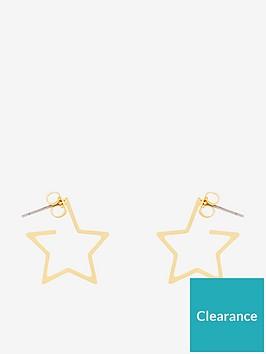 whistles-mini-star-outline-earrings