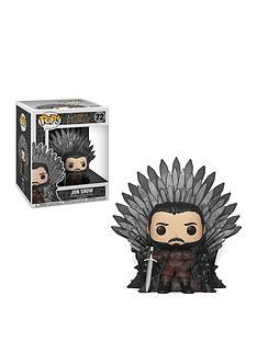 pop-got-jon-snow-sitting-on-iron-throne