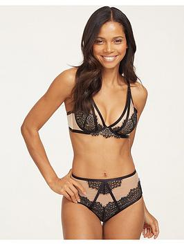 figleaves-fleur-lace-and-mesh-non-padded-bra-black