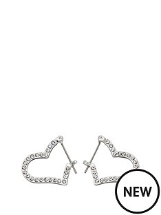 fiorelli-jewellery-fiorelli-silver-crystal-pave-heart-hoop-earrings