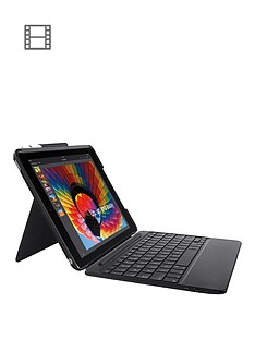 logitech-slim-combo-case-with-detachable-backlit-bluetooth-keyboard-for-ipad-5th-6th-generation-uk-intnl-graphite
