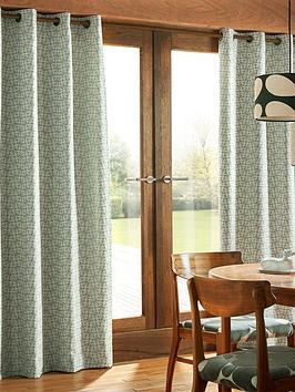 orla-kiely-house-woven-acorn-cup-eyelet-curtains