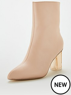 v-by-very-perspex-high-heel-ankle-boots-camel