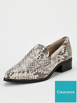 v-by-very-mint-leather-point-loafers-snake-print