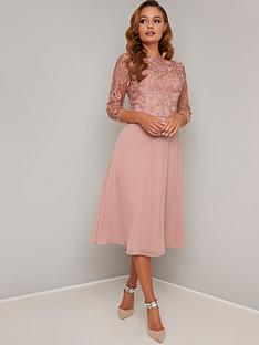 chi-chi-london-melina-dress-rose-gold