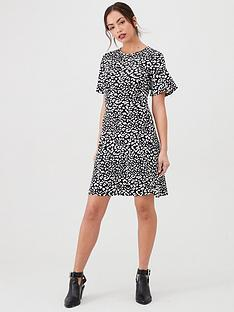 v-by-very-jersey-skater-dress-mono-print
