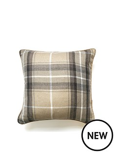 catherine-lansfield-catherine-lansfield-brushed-heritage-check-large-cushion