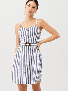 v-by-very-stripe-belted-linen-beach-dress-stripe