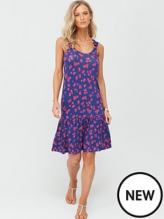 v-by-very-dropped-hem-jersey-dress-navy-ditsy-print